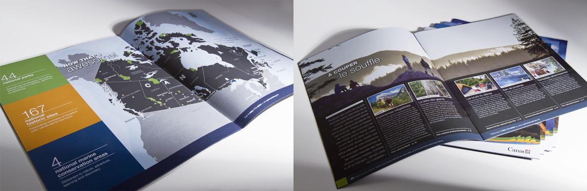 Parcs Canada - Brochures touristiques