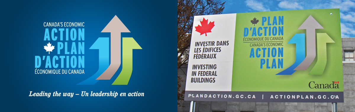 Department of Finance Canada - Branding – Canada's Economic Action Plan 2010