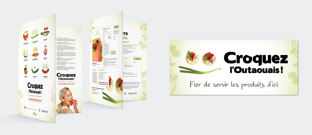 TCAO - Advertising Campaign – Outaouais, bite into it