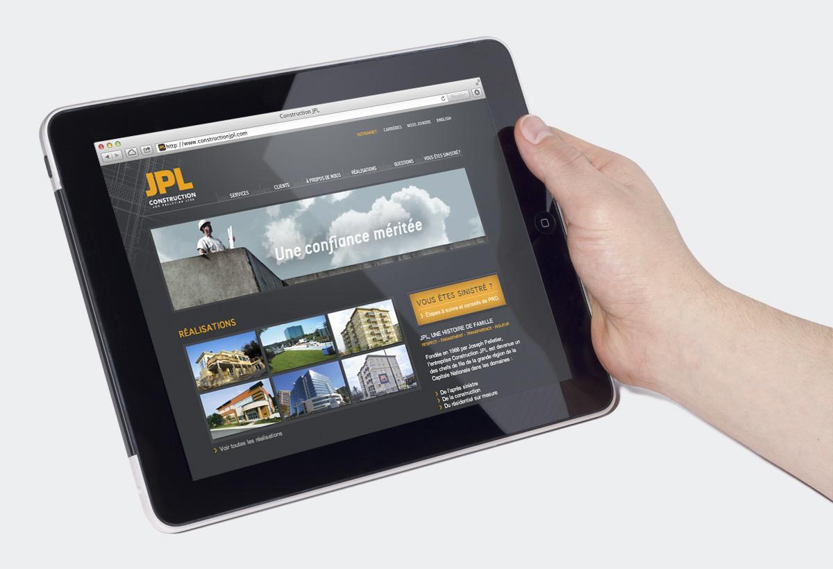 Construction JPL - Image de marque