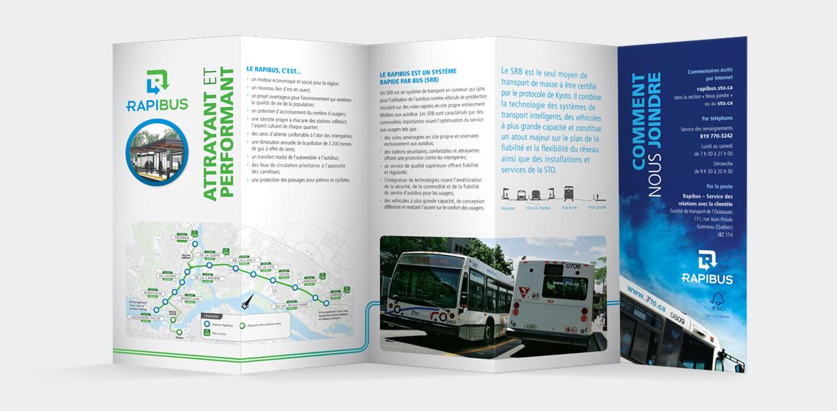 Société de transport de l'Outaouais - Image de marque – Rapibus