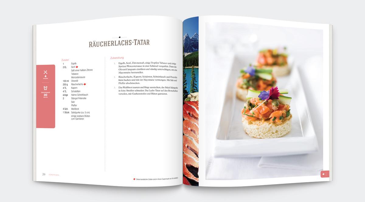 Agriculture Canada - Livre de recettes <i>So Schmeckt Kanada!</i>