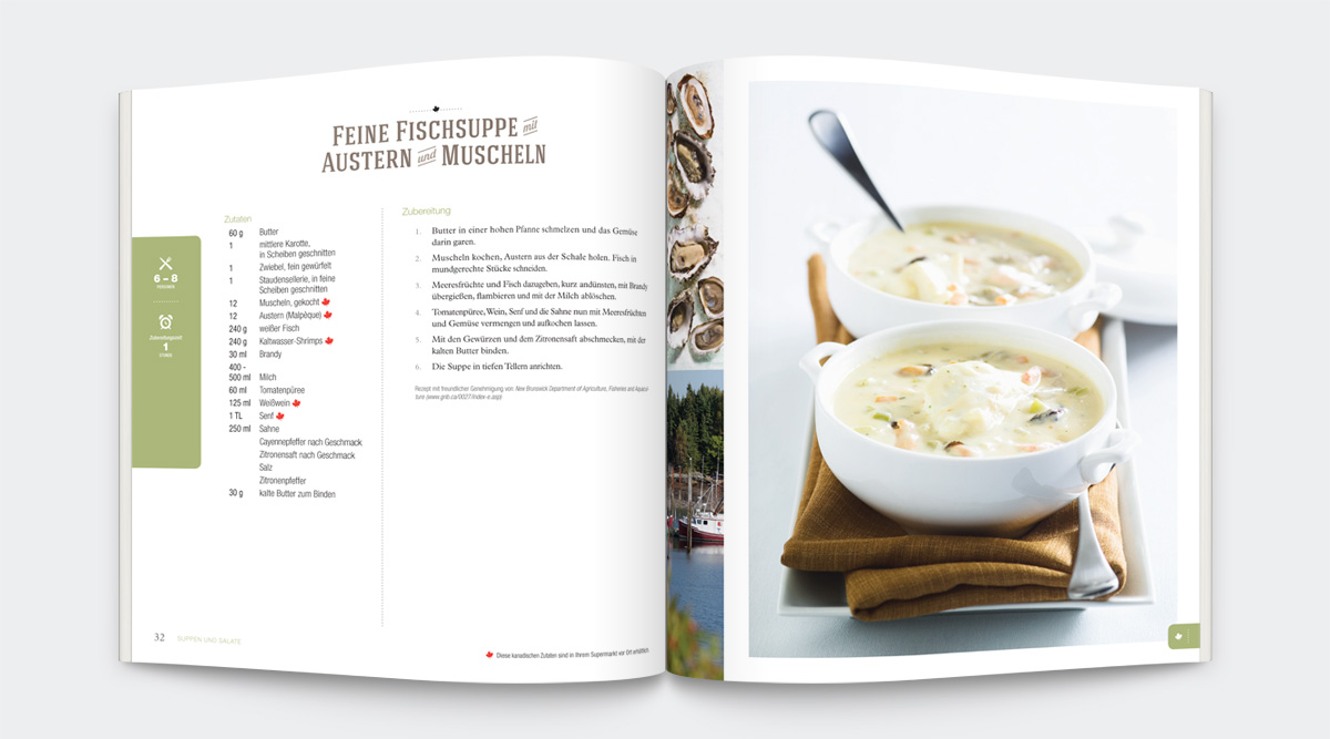 Agriculture Canada - <i>So Schmeckt Kanada!</i> Cookbook