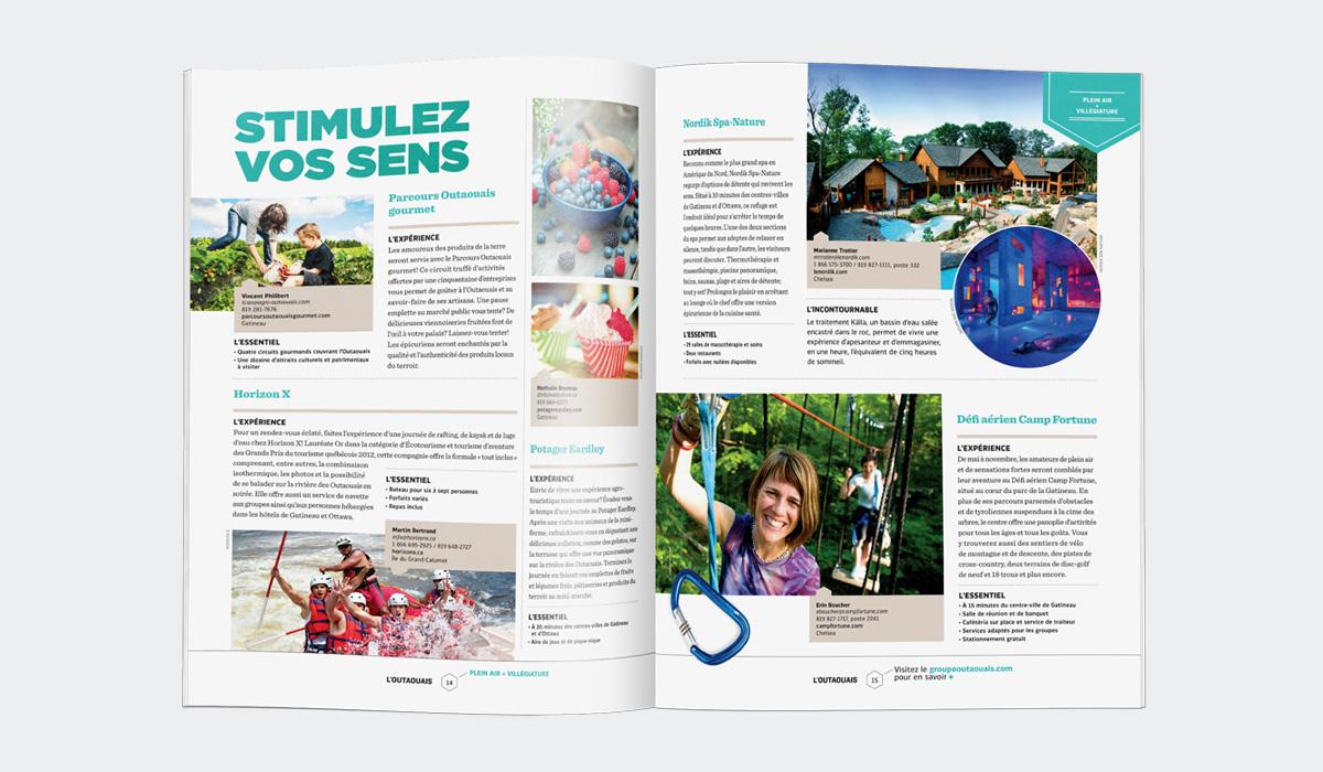 Tourisme Outaouais - Magazine L'Outaouais 2013-2014