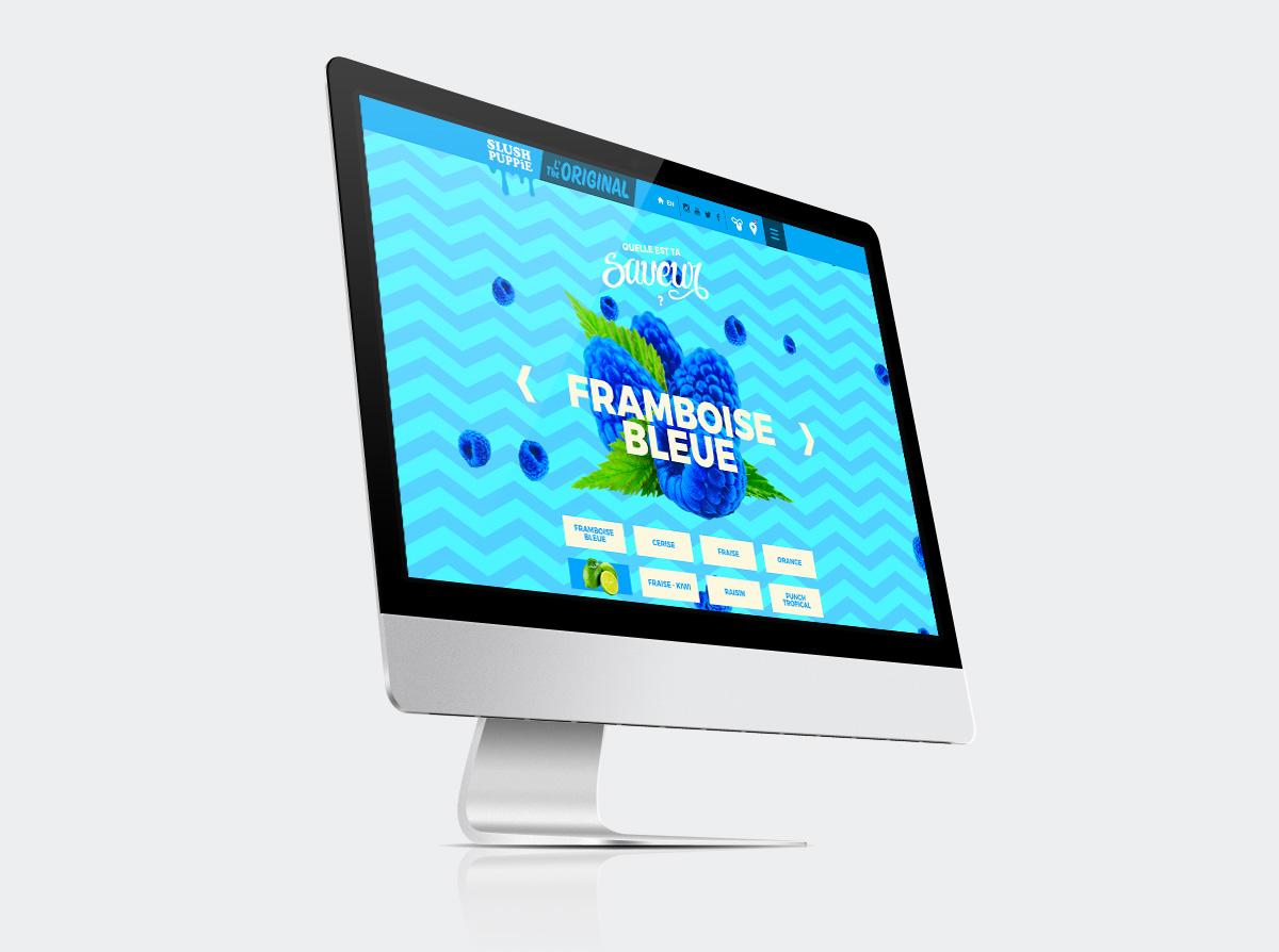 Slush Puppie Canada - Promotional Website