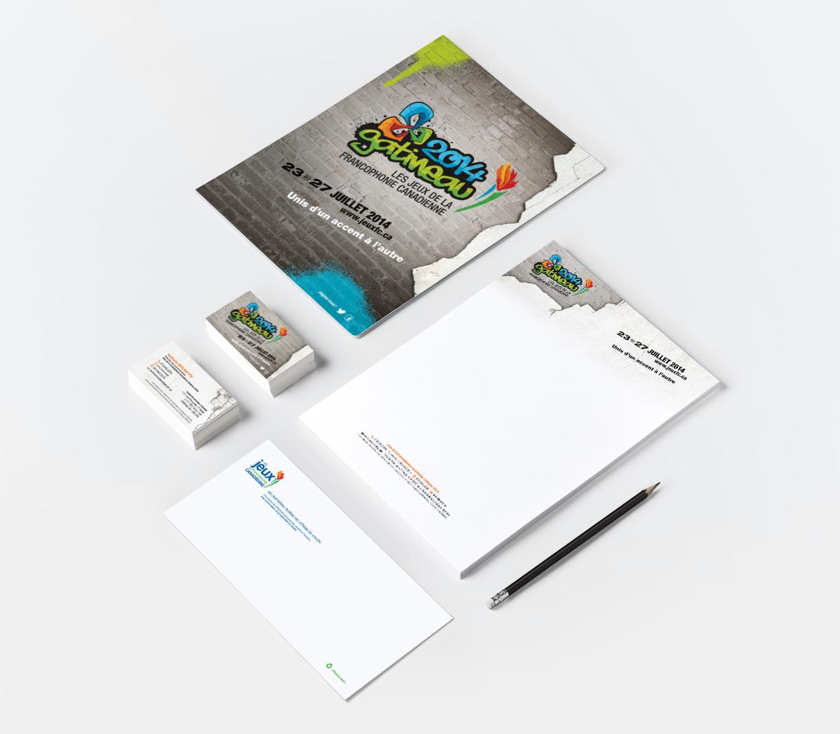 Canadian Francophone Games 2014 - Branding