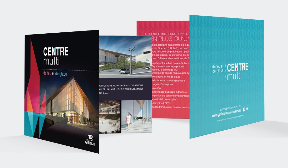 Ville de Gatineau - Centre multifonctionnel – Branding