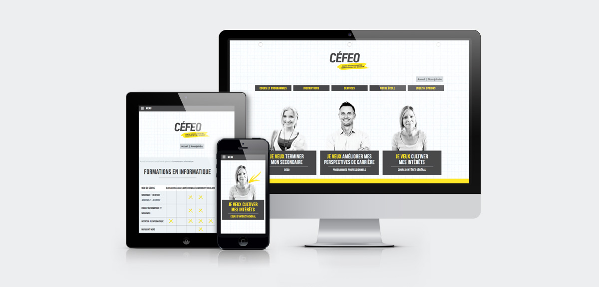 CEFEO - Branding and website