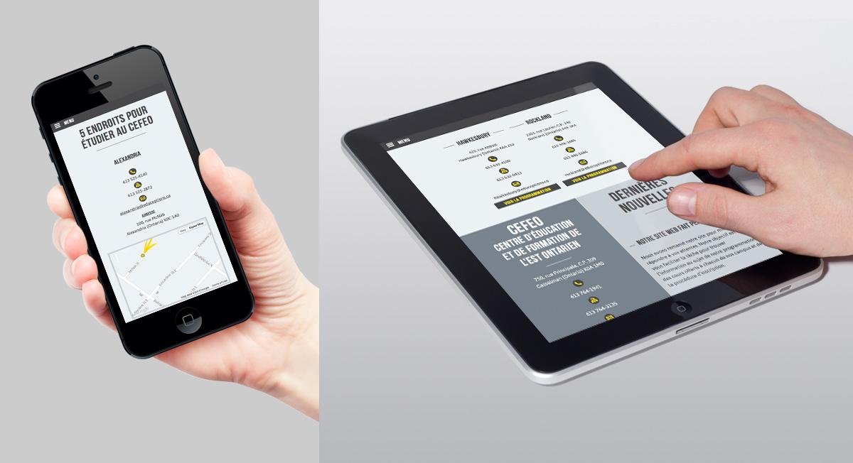 CEFEO - Image de marque et site Web