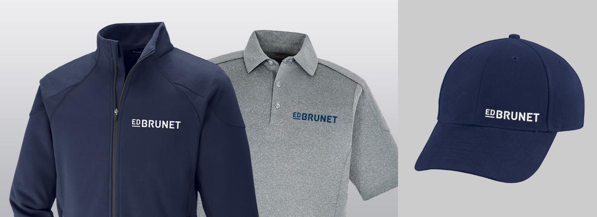 Ed Brunet - Branding and website