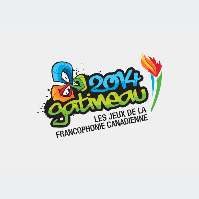 Canadian Francophone Games 2014 – Branding