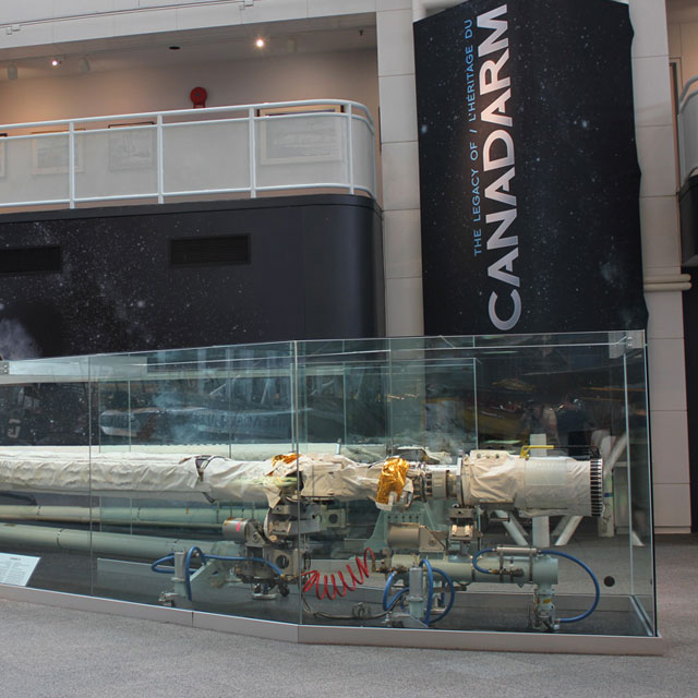 Canadian Space Agency – Canadarm Exhibition