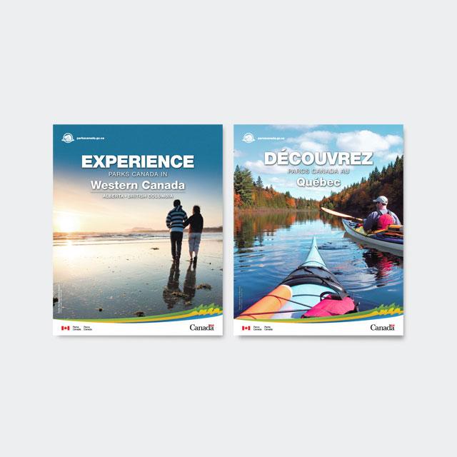Parcs Canada – Brochures touristiques
