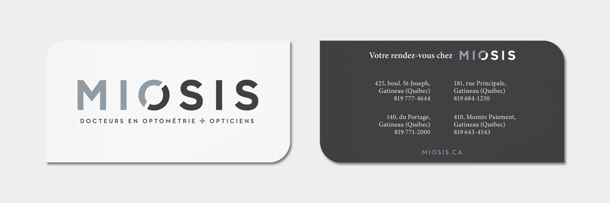 Miosis - Image de marque et site Web