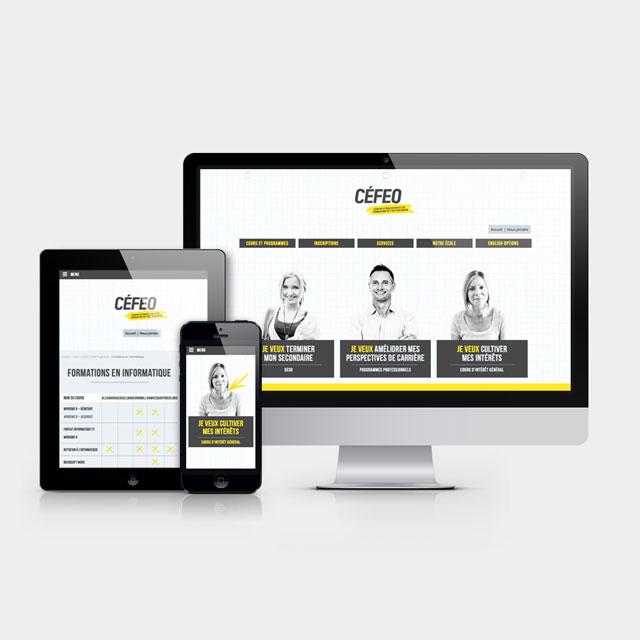 CEFEO – Image de marque et site Web