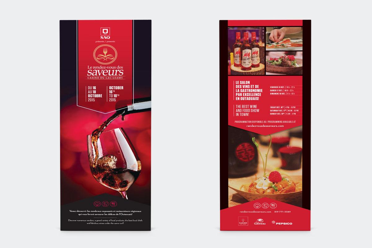 Rendez-vous des saveurs - Affiches et publicité