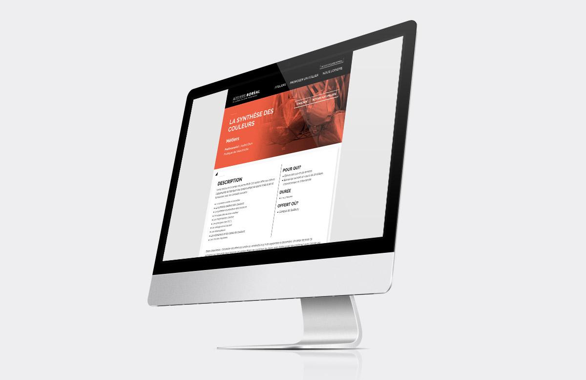 Collège Boréal - Site Web