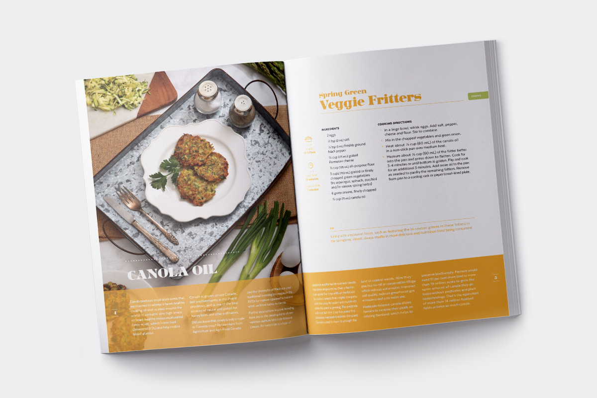 CropLife Canada - Livre de recettes <i>From Farm to Food</i>