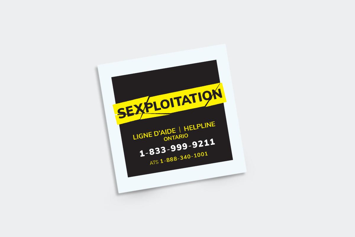 AOcVF - Campagne <i>sexploitation</i>